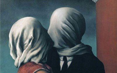 «Los amantes» – René Magritte